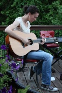Susan Enan house concert.   Eugene, OR,  2010